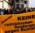 Bamberg:Protest gegen Balkanzentrum Stop Racism! Stop Deportation of Roma!