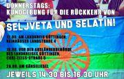 Donnerstags: Kundgebung für die Rückkehr von Seljveta und Selatin!