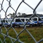 Polizeieinsatz am Terminal